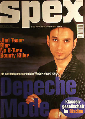 1 german cover clipping DEPECHE MODE DAVE GAHAN NOT SHIRTLESS SPEX BOYS BOY