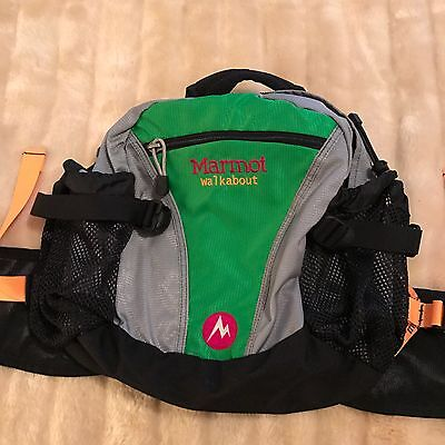 Marmot Walkabout Backpack Unusual Fitting At Lower Back