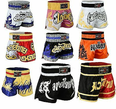 Maxx Muay Thai Fight Shorts MMA Grappling Kick Boxing Trunks Martial Arts UFC SH