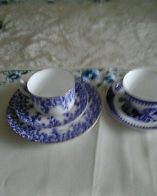 Royal Worcester blue and white china. Very old