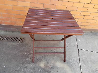 Outdoor Foldable Timber Table Patio Veranderah Road Trips