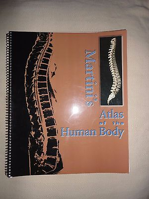 Martinis Atlas of the Human Body by Frederic Martini (Paperback, 2003)