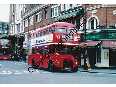Bus Photo: London Central Aec Routemaster Rm1955 Ald955B