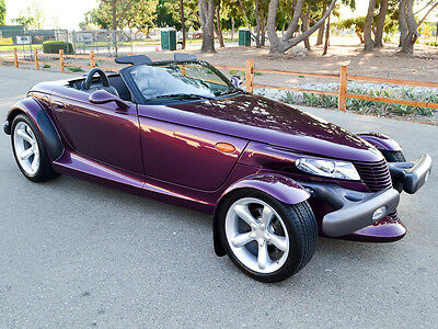 1999 Plymouth Prowler Base Convertible 2-Door 99 Prowler, 1,600 Original Miles! Excellent Condition, 1-Owner, Clean Carfax