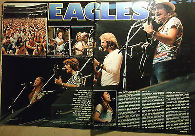2 german clipping EAGLES LIVE ROCK BOY BAND BOYS 1978 NOT SHIRTLESS GROUP