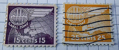 Canal Zone 1951. 2stamps