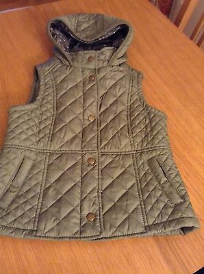Girls Gillet (body warmer) age 7-8yrs Marks and Spencer