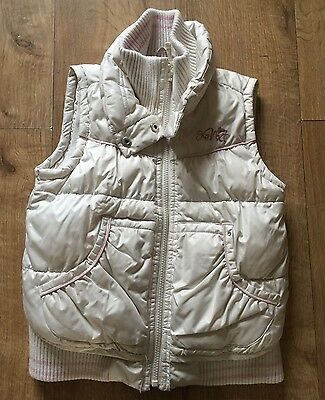 Girls Next Cream Gilet - Age 7-8