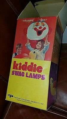 Vintage kiddie Clown Lamp