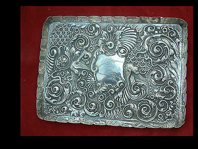 Victorian Solid Silver Dressing Table Tray