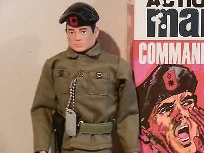Action Man 40th, Talking Commander, New Boxed.