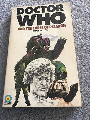 Doctor Who And The Curse Of Peladon First Printing Target Book