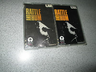 U2 Mexican Cassette Tape 2 Albums Zooropa & Rattle And Hum