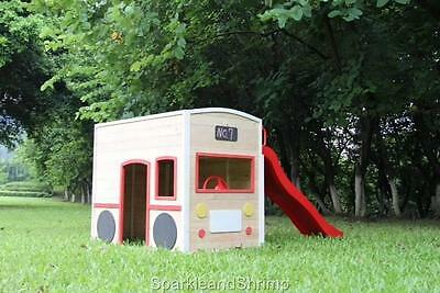 Bus Cubby Outdoor Play Equipment Cubby House