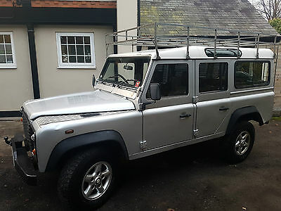 2004 Land Rover Td5 Defender County 110 2.5 Turbo Diesel 4X4 Silver Amzing Truck