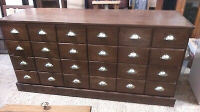 Apothecary Cabinet Chest Drawers