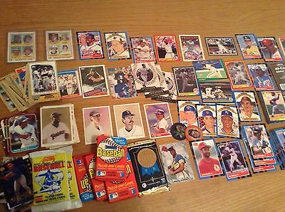Huge Job Lot Of Over 500 Great Baseball Trading Cards Many Stars And Rookies