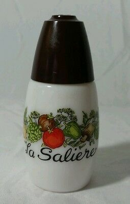 Westinghouse Gemco La Saliere Milk Glass Shaker Vegetables Spice of Life
