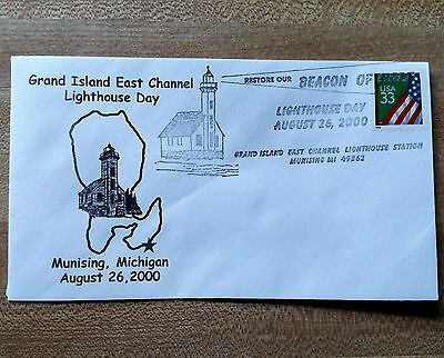 Great Lakes Lighthouse-Grand Island East Channel  *us First Day Issue