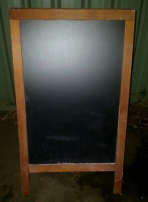 Wooden A-Frame - Double-sided - RRP: $149  -   Sign Chalk Board