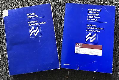 2 National Semiconductor Databooks Mos/lsi, Mm54Hc/74Hc High Speed Logic Family