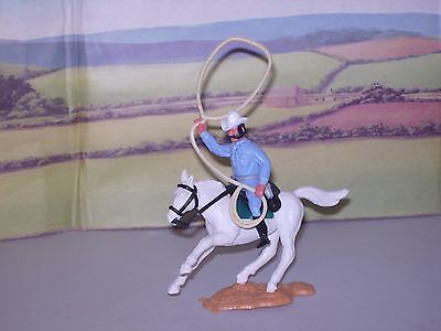 Timpo Wild West Mounted Cowboy With Lasso 1/32