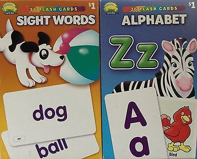 72 Flash Cards Sight Words And Alphabet