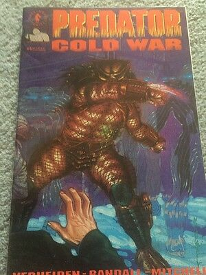 Predator Cold War 4 First Printing Excellent Condition
