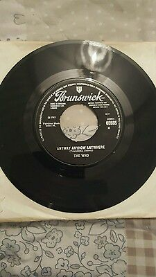 The who 45rpm
