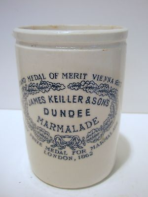good condition small size Keiller Dundee Marmalade printed  pot