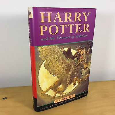 Harry Potter And The Prisoner Of Azkaban 1st Edition Hardback With 5 Text Errors