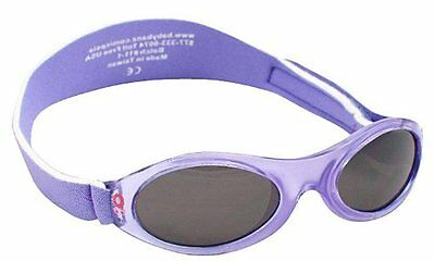 Adventure BanZ Baby Sunglasses, Lavender Tulip, Infants 2-5 Years