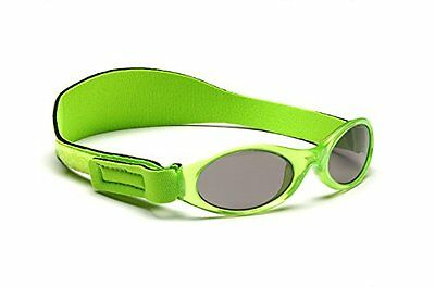 Adventure BanZ Baby Sunglasses, Key Lime Green, Infants 0-2 Years