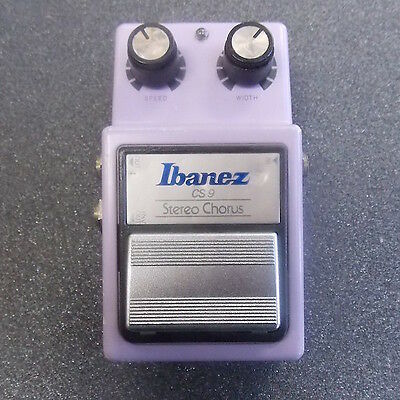 Ibanez CS9 Stereo Chorus Guitar Effects Pedal