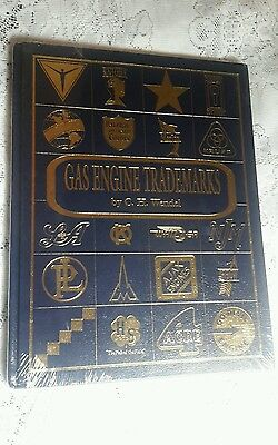 C H WENDEL Gas Engine TRADEMARKS Hit Miss BRAND NEW Still Sealed HARDBACK Cover