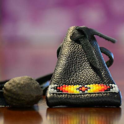 Small Moqui Marble & Navajo Indian Sherman Pouch from Utah