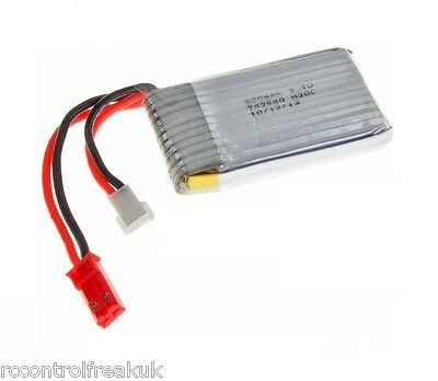 RC Drone, Helicopter, Quadcopter Spare Battery Pack 3.7v 600mAh UPGRADE