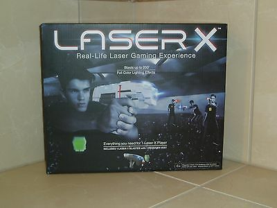 LASER X One Player Real-Life Laser Gaming Experience - 1 Blaster 1 Vest