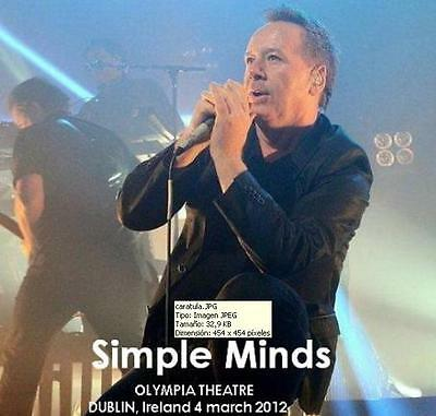 SIMPLE MINDS - OLYMPIA THEATRE, DUBLIN, IRELAND 4 march 2012 (double CD bootleg)