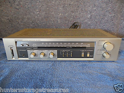 Vintage Pioneer Stereo Receiver SX-303 System 190 Watts