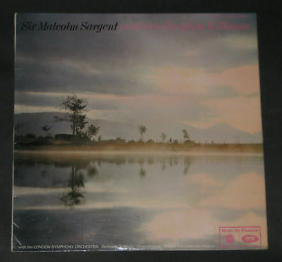 VAUGHN WILLIAMS LP SIR MALCOLM SARGEANT CONDUCTS MINT LSO GREENSLEVES ao MFP2060