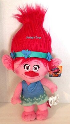 "NEW HASBRO DREAMWORKS TROLLS Hug 'n Plush POPPY Doll Jumbo 23"" Inch NWT Plush"