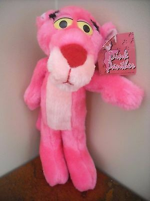 """1993 Pink Panther Plush 12"""" With Tag"""