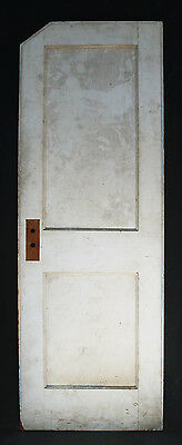 "24""x70 Antique Arts Crafts Interior Solid Wood Wooden Closet Door Recessed Panel"