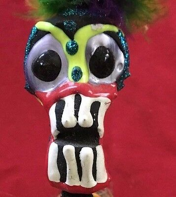 New Orleans Souvenir 12' Voo Doo Doll - With Tags - Hand Crafted - Mardi Gras