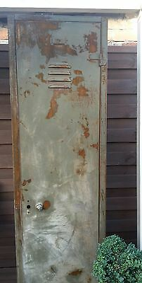 Vintage Industrial  Locker Fine Example Collect Poole