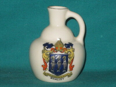 Arcadian China Flagon - WHALLEY [Lancashire] crest