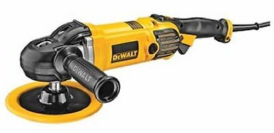 "DEWALT DWP849X 7"" Electronic Sander Polisher With Protective Cover"