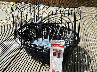 Trixie Bicycle Basket for Small Dog with cover and straps