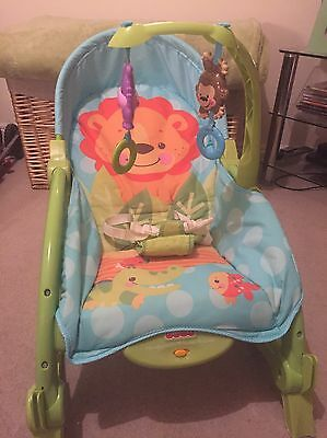 Fisher Price Vibrating Rocking Baby Chair Excellent Condition